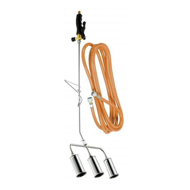 RIBILAND désherbeur thermique 3 bruleurs 45mm + tuyau 5m - prox583950