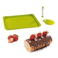 Kitchen Artist - Set pour gâteaux roulés et bûches Men297