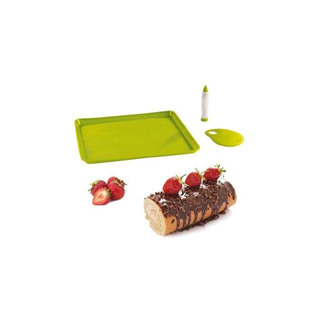 Kitchen Artist Set pour gâteaux roulés et bûches Men297