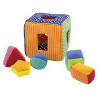 Miniland - cube d'activites en tissu