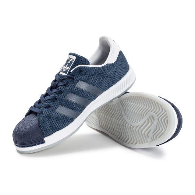 adidas superstar bounce bleu marine