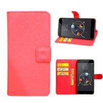 Lapinette - Etui Housse Portefeuille Pour Apple Iphone 8 - Rouge