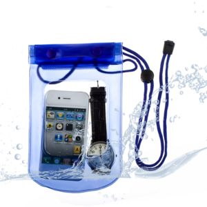 Lapinette - Housse Etanche Waterproof Compatible Samsung Galaxy S4 Mini - Bleu