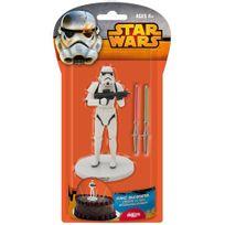 Dekora - Kit décoration Gâteau Star Wars - Stormtrooper