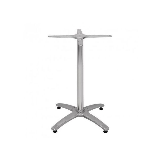 Materiel Chr Pro Pied de table pour plateau 800 mm 4 pieds en aluminium Bolero