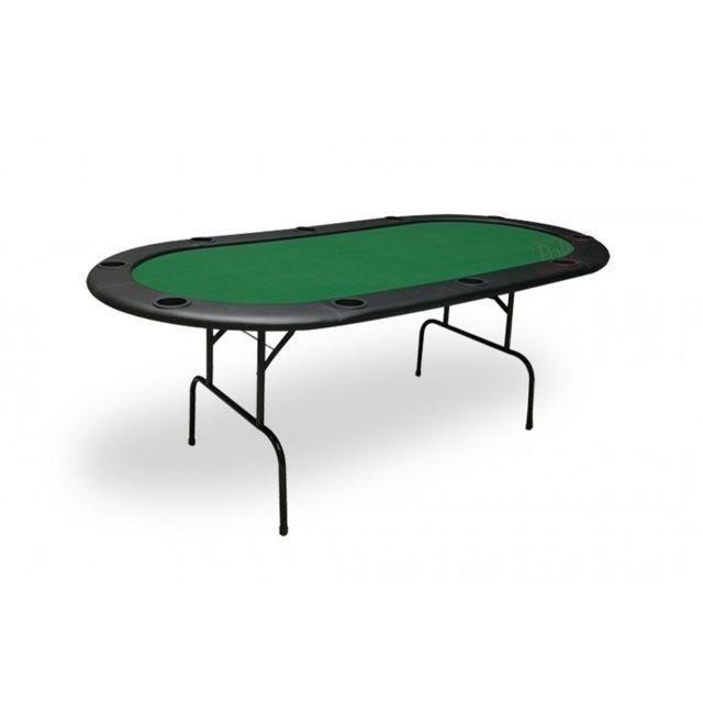 Pokeo Table de Poker 10 joueurs Xxl