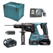Makita - Marteau perforateur Dhr243RTJ à batteries Lxt 18V Sds-plus 2x5Ah