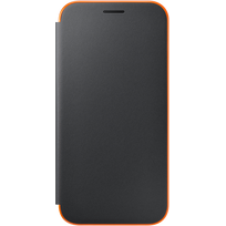 Samsung - Neon Flip Cover Galaxy A5 2017 - Noir