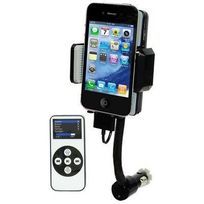 Yonis - Transmetteur Fm iPhone 4 4S 3G 3GS iPod support télécommande