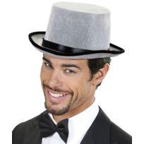 chapeau haut forme gris achat chapeau haut forme gris pas cher rue du commerce. Black Bedroom Furniture Sets. Home Design Ideas