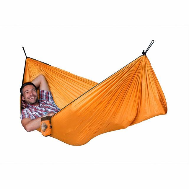 La Siesta Hamac de Voyage Simple Colibri orange 250x150