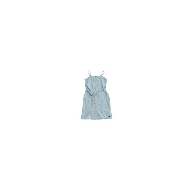 444666b87436d Guess - Robe Fille jean Bleu - Taille - 8 ans - pas cher Achat   Vente Robe  enfant - RueDuCommerce