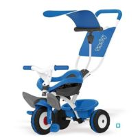 Smoby - Tricycle Baby Balade Bleu