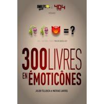 404 Editions - 300 livres traduits en émoticônes