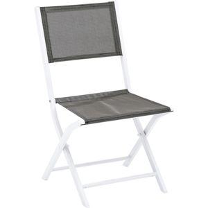 wilsa chaise pliante modulo lot de 2 blanc pas cher achat vente fauteuil de jardin. Black Bedroom Furniture Sets. Home Design Ideas