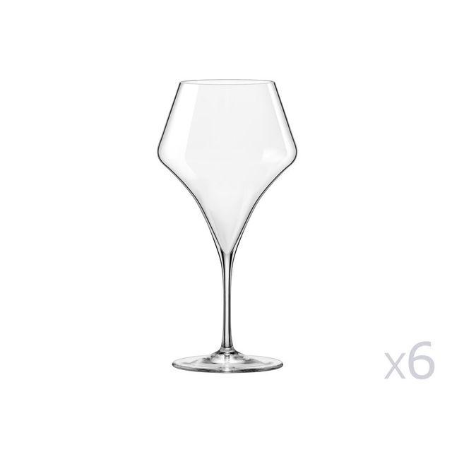 Yong Verre à vin bourgogne 60cl - coffret de 6 pièces Aram