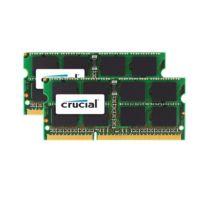 CRUCIAL - Kit de 2 barrettes mémoire portable SO-DIMM DDR3 PC3-8500 - 2 x 4 Go, 8 Go 1066 MT/s - CAS 7 - CT2C4G3S1067MCEU Pour Mac