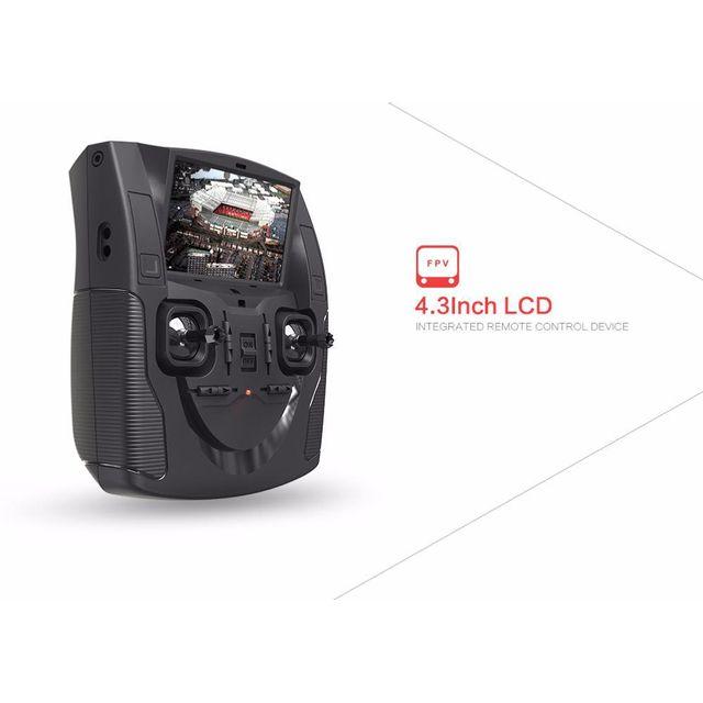 Breizh-modelisme - Hubsan X4 H107D Fpv V3 caméra Idéal Débutants