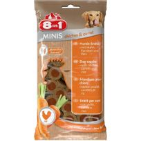 8 In 1 - Friandise Chien, 8IN1 Minis Poulet Carottes
