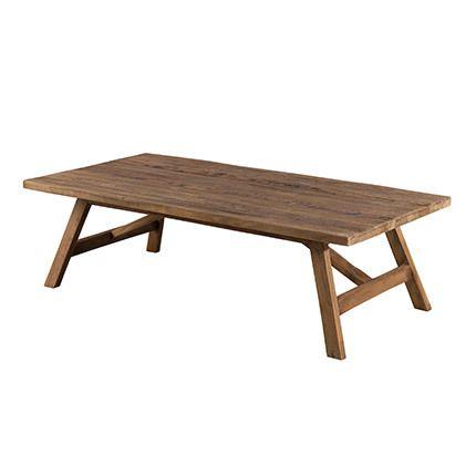 Table basse 120x60 cm Appoline - teck foncé