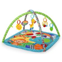Bright Starts - Tapis d'eveil animaux Zippy Zoo Activity Gym