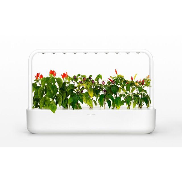 Click & Grow Click&Grow Smart Garden 9, Jardinière avec Led - Blanc