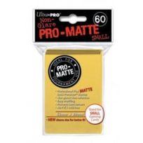 Ultra Pro - 330630 - Jeu De Cartes - Housse De Protection - Pro-matte - Jaune - Petit - D10