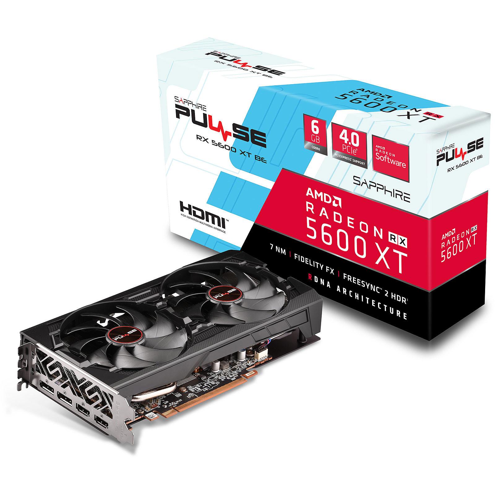 Radeon RX 5600 XT BE - Dual Fan - 6Go