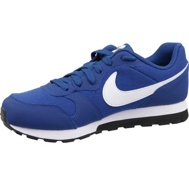 Nike Md Runner 2 Gs 807316 411 Bleu pas cher Achat