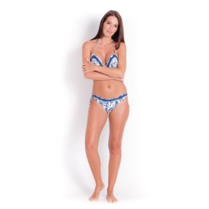 Watercult Bas de bikini noué Crochet WATERCULT, Indigo - Batik Twist