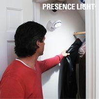 Vimeu-Outillage - Lampe Presence Light avec Détecteur de Mouvement