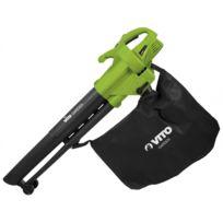 Aspirateur souffleur feuilles Vitogarden 2400W sac 45L sangle - poignée anti vibrations