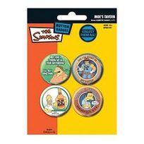 Pyramid - Simpsons - Pack 4 badges Design 2