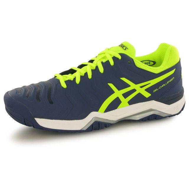 d7f76d3e08d1f Asics - Gel Challenger 11 bleu, chaussures de tennis homme - pas cher Achat    Vente Baskets homme - RueDuCommerce