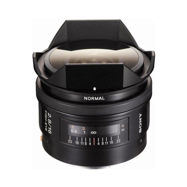 Sony Objectif Sal 16 mm f/2.8 Garanti 2 ans