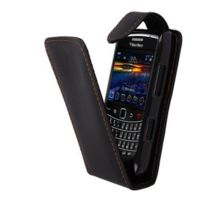 BlackBerry - Etui Portefeuille Simili Noir 9790 Bellagio