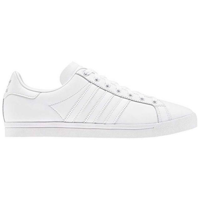 Nouvelle vente Homme Basket Adidas blanche homme Textile