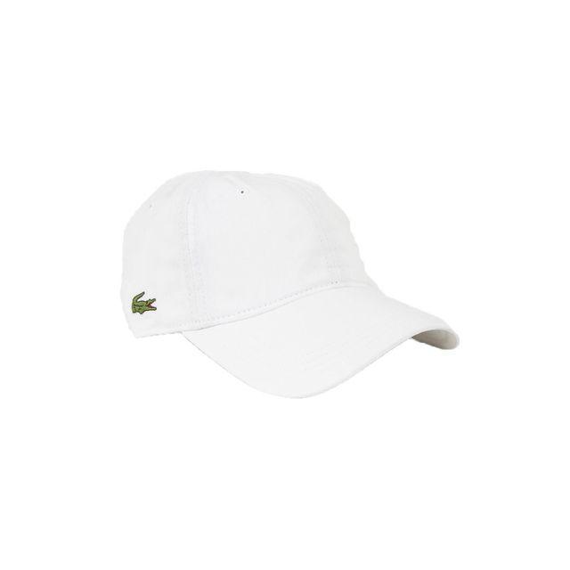 dad49615e0 Lacoste - Casquettes rk9811 blanc - pas cher Achat / Vente Casquettes,  bonnets, chapeaux - RueDuCommerce