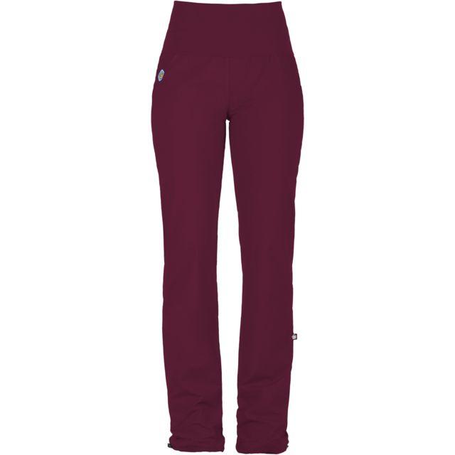 26a9f648d23 E9 - Andrea - Pantalon Femme - rouge - pas cher Achat   Vente Pantalons