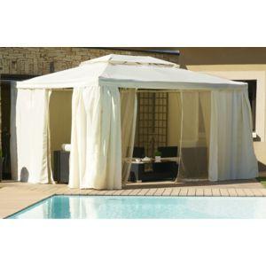 dcb garden toile de toit pour tonnelle 4x3 m pas cher achat vente pergola rueducommerce. Black Bedroom Furniture Sets. Home Design Ideas