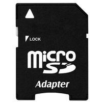 Yonis - Adaptateur carte mémoire Micro Sd à carte Sd