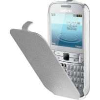 Anymode - Etui coque Samsung blanc pour Chat 357 S3570