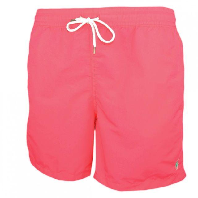 Ralph Lauren - Short de bain Traveler rose fushia logo vert pour homme XL - pas  cher Achat   Vente Short de bain, boardshort - RueDuCommerce 23feb2ad221