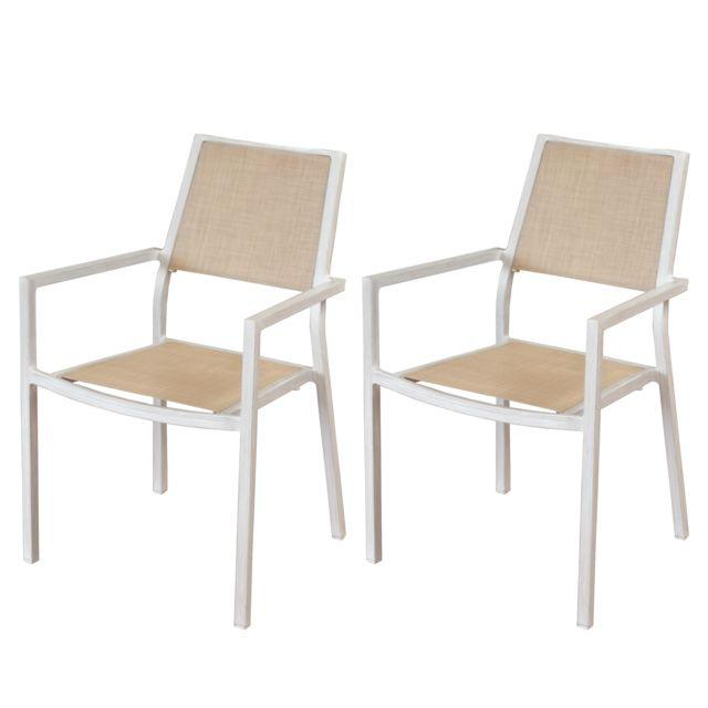 rendez vous deco fauteuil roma lin lot de 2 pas cher. Black Bedroom Furniture Sets. Home Design Ideas