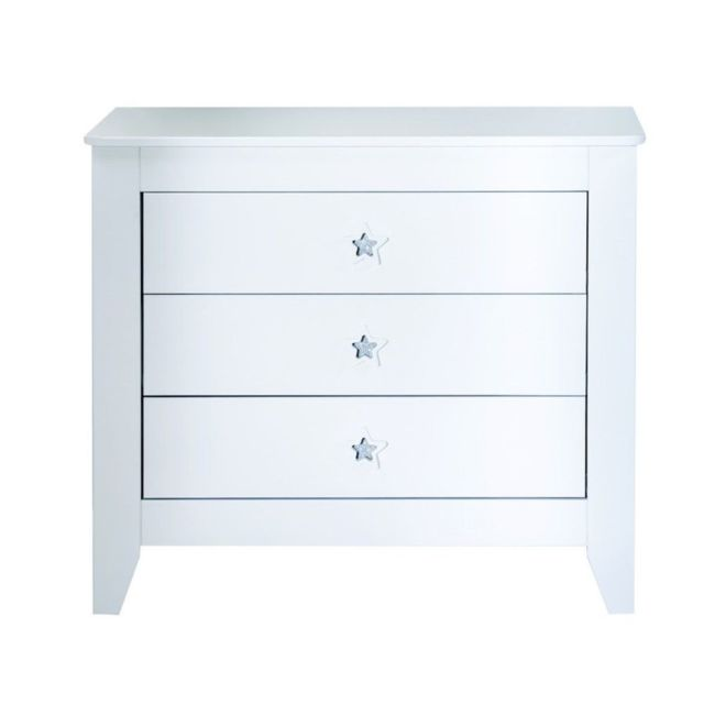 Noukie's Commode 3 tiroirs Swarovski