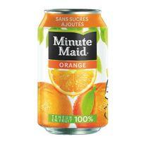 - Jus Minute Maid orange canette 33 cl - Carton de 24