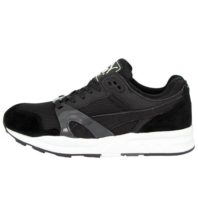 Puma Trinomic Xt1 Mono Chaussures Mode Sneakers Homme Noir