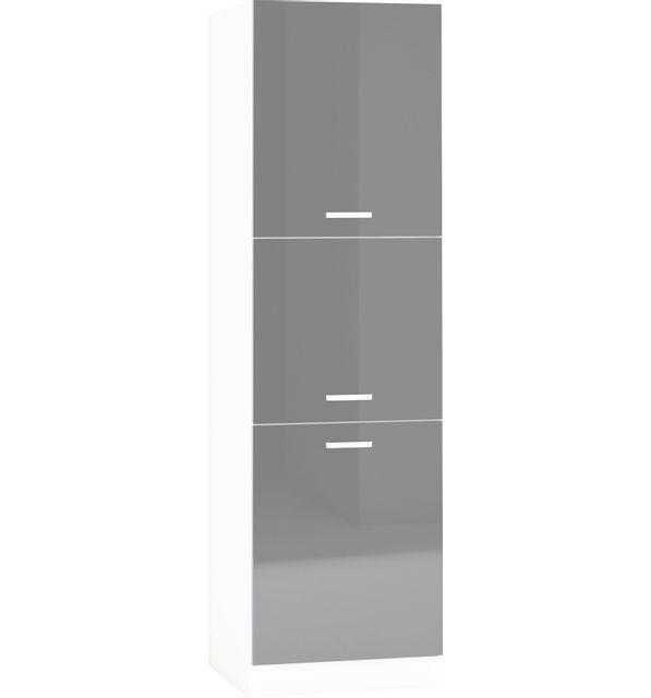 Comforium armoire colonne de cuisine design 60 cm avec 3 - Meuble colonne cuisine 60 cm ...