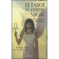 Exergue - le tarot du féminin sacré ; 78 lames de divinations ; coffret