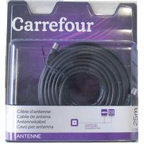 CARREFOUR - Câble d'antenne - CFL-ANT20 - Noir
